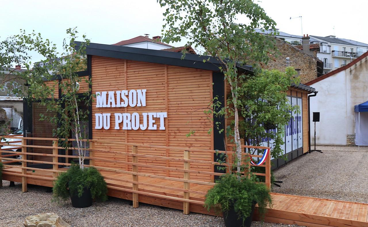 la maison du projet ville de poissy. Black Bedroom Furniture Sets. Home Design Ideas