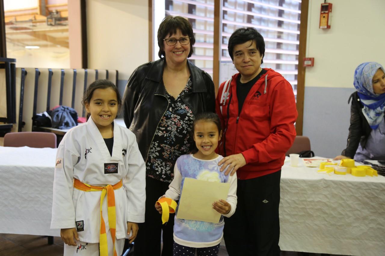 club taekwondo poissy