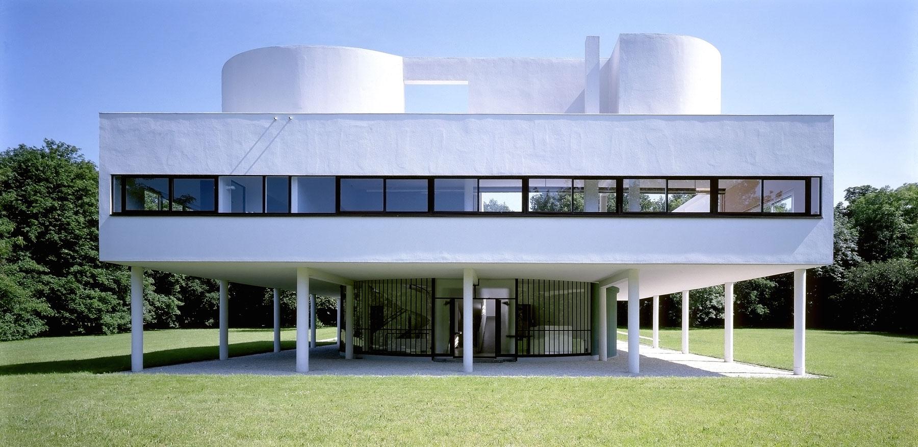 La villa savoye ville de poissy for Poissy le corbusier