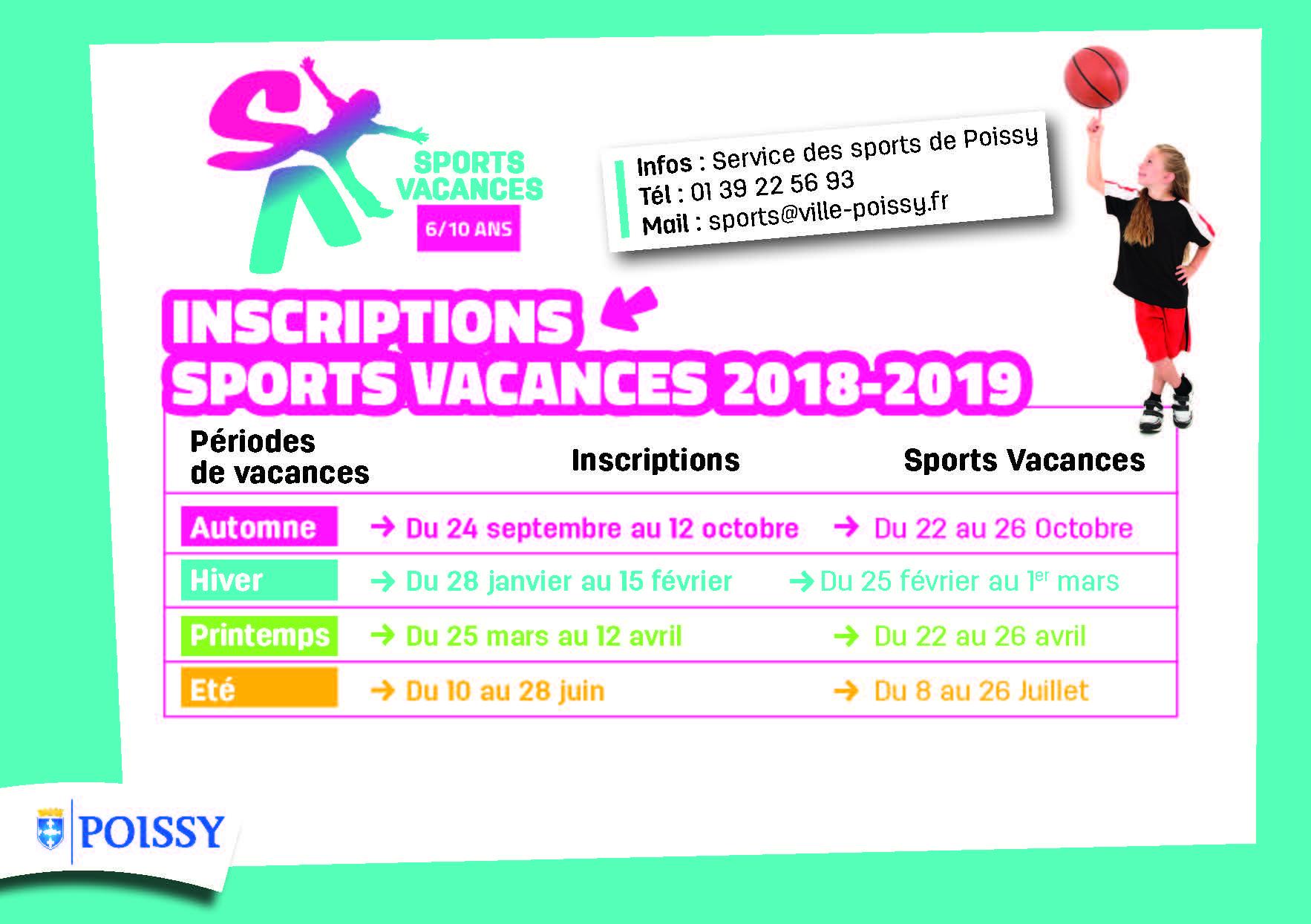 25da76cd443c1d découvrez les dates d inscriptions pour sport vacances