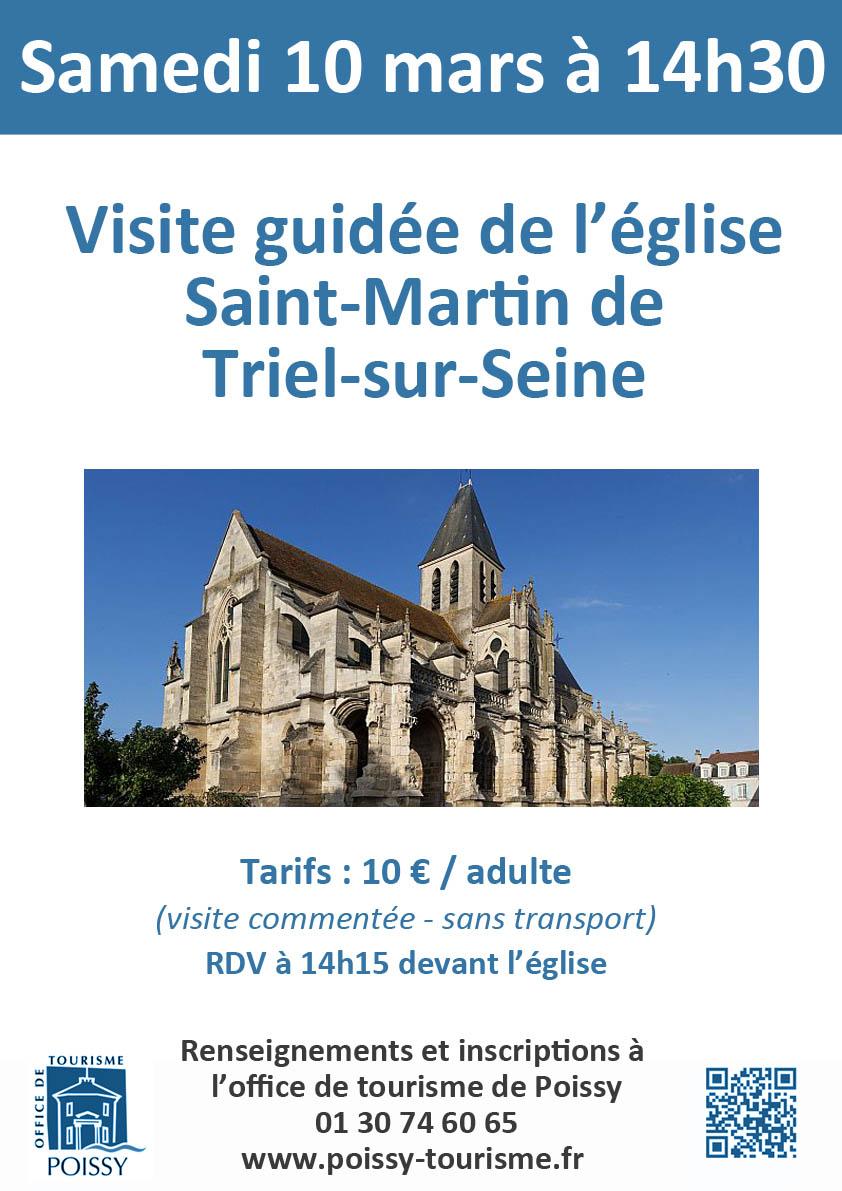 Visite de l glise saint martin de triel sur seine - Office de tourisme saint martin de re ...