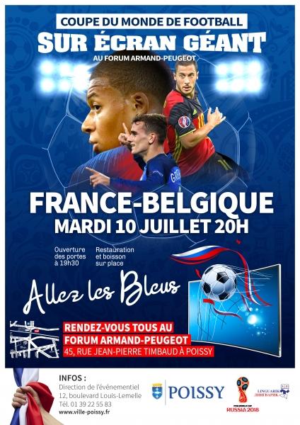Demi finale de la coupe du monde france belgique ville de poissy - Dotation coupe de france ...