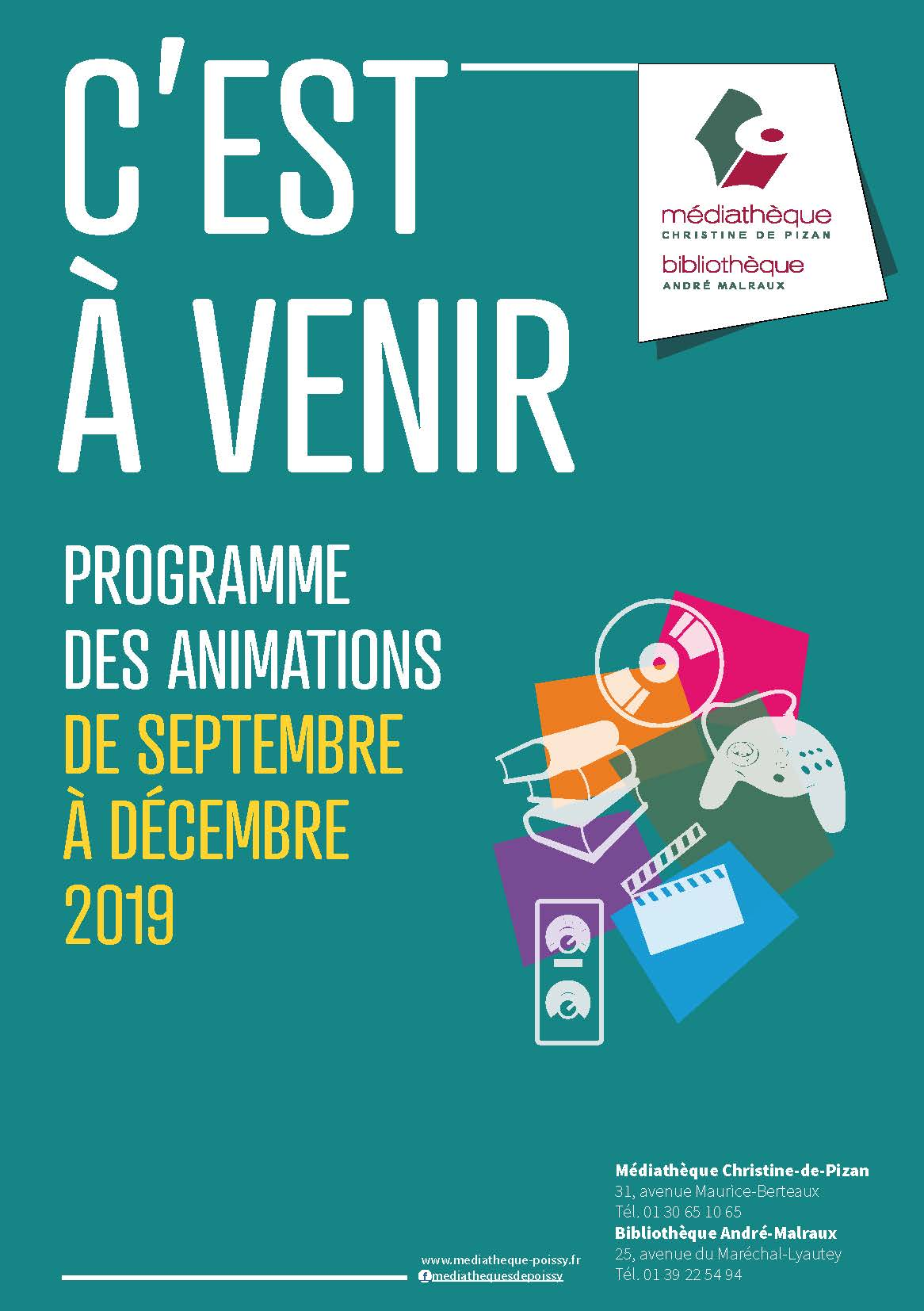 Animations Médiathèques Septembre 2019